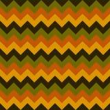 Chevron pattern seamless vector arrows geometric design colorful yellow orange green dark green pastel Stock Photography