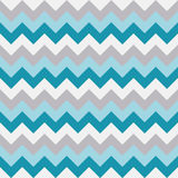 Chevron pattern seamless vector arrows geometric design white aqua light blue grey. Background Stock Photography