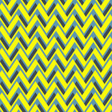 Chevron pattern from shifted zigzags Royalty Free Stock Photos