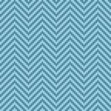 Chevron Pixel Art Seamless Pattern. Stock Photos
