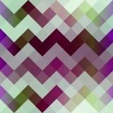 Chevron pixel pattern. Stock Image