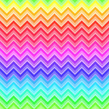 Chevron rainbow colored seamless pattern Royalty Free Stock Images