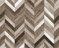 Chevron random color natural parquet seamless floor texture Stock Photography