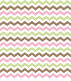 Chevron Sage, Pink & Brown Background. Chevron zig zag pattern tiling background in sage, brown & pink colors Stock Photos