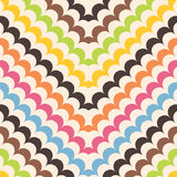 Chevron scales background pattern Stock Images