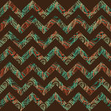 Chevron seamless pattern Stock Image