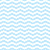 Chevron seamless pattern blue.  Stock Images