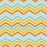 Chevron stripes background. Bright seamless pattern with classic geometric ornament. Zigzag horizontal lines wallpaper. Chevron diagonal stripes abstract vector illustration