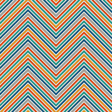 Chevron stripes background. Bright seamless pattern with classic geometric ornament. Zigzag horizontal lines wallpaper. Chevron diagonal stripes abstract royalty free illustration