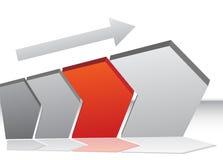 Chevron-Wachstum Lizenzfreies Stockbild