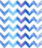 Chevron watercolor blue Background Royalty Free Stock Photos