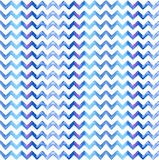 Chevron watercolor blue Background Royalty Free Stock Image