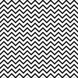 Chevron zigzag black and white seamless pattern. Stock Image