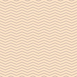 Chevron zigzag cream and beige seamless pattern. Royalty Free Stock Photo