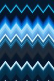Chevron zigzag pattern abstract art background, color trends. Movement car light twilight, dramatic tone. Abstract rays colorful s. Tripes beam pattern. Stylish royalty free illustration