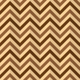 Chevron Zigzag seamless texture. Chevron Zigzag, compressed paper, wallpaper. Abstract brown shades background, seamless texture, vector Stock Images