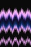 Chevron zigzag wave pattern abstract art background, color trends. Movement car light twilight, dramatic tone. Abstract rays color. Ful stripes beam pattern vector illustration