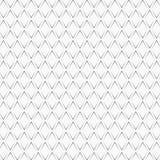Chevrons noirs répétés sur le fond blanc Conception sans couture de modèle Illustration abstraite de chevrons Ornement de courbes illustration libre de droits