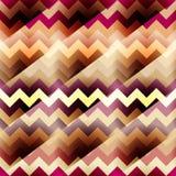 Chevrons pattern with diagonal strikes Royalty Free Stock Photo