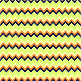 Chevrons Seamless Pattern. Background with Chevrons in Retro and Royalty Free Stock Images