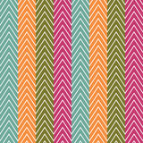 Chevrons seamless pattern background. Vector Royalty Free Stock Photos