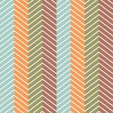 Chevrons seamless pattern background. Vector Royalty Free Stock Image