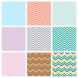 Chevrons seamless pattern background Royalty Free Stock Images