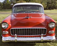 Chevy 1955 Stockbild