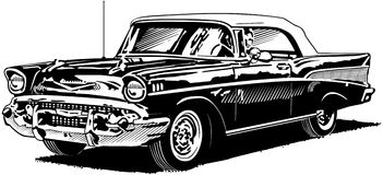 57 Chevy Royalty Free Stock Photography