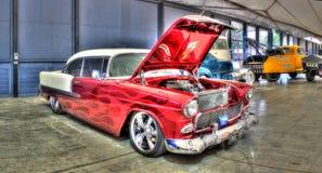 Chevy 1955 immagine stock