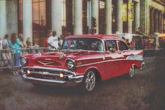57 Chevy Photographie stock