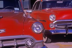 A 1953 Chevy antique car in Hollywood, California Stock Photography