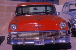 A 1953 Chevy antique car in Hollywood, California Royalty Free Stock Photos