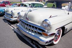 1954 Chevy Automibiles Στοκ Φωτογραφία