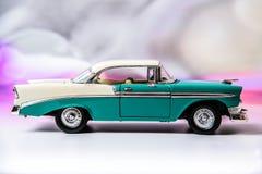 1956 Chevy Bel Air ονειρεύεται δύο Στοκ Φωτογραφίες
