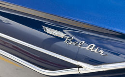 Chevy Bel Air Classic Car Stock Foto