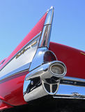 1957 Chevy Bel Air. CONCORD, NC - April 8, 2017:  A 1957 Chevy Bel Air automobile on display at the Pennzoil AutoFair classic car show held at Charlotte Motor Stock Image