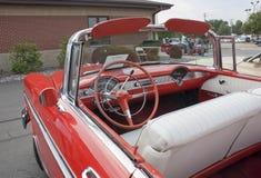 1956 Chevy Bel Air Interior View Royalty-vrije Stock Fotografie