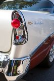 1956 Chevy Bel Air. MATTHEWS, NC - September 4, 2017:  A 1956 Chevy  Bel Air on display at the Matthews Auto Reunion & Motorcycle Show Stock Photo