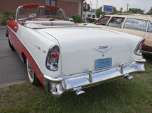 1956 Chevy Bel Air Rear View Stock Foto
