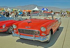 1955 Chevy Bel-Aire Sedan Convertible Stock Photo