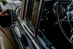 1957 Chevy Belair. Antique 1957 black Chevy Belair Royalty Free Stock Image