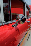 1957 Chevy BelAir. Fully restored red and white Chevrolet BelAir Stock Photo