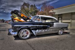 1958 Chevy Belair in HDR Stock Foto's