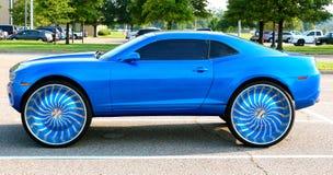 Chevy On Big Wheels eccellente Fotografia Stock Libera da Diritti