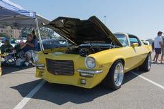 Chevy Camaro na pokazie podczas NAZYWA przedstawienie wycieczkę turysyczną Zdjęcia Stock