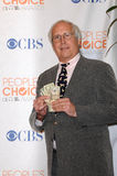 Chevy Chase. At the 2010 People's Choice Awards Press Room, Nokia Theater L.A. Live, Los Angeles, CA. 01-06-10 Royalty Free Stock Images