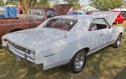 1966 Chevy Chevelle bianco ss Fotografia Stock
