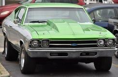 Chevy Chevelle vert Photos libres de droits