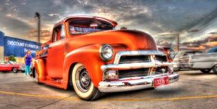 Chevy classique prennent le camion Photo libre de droits